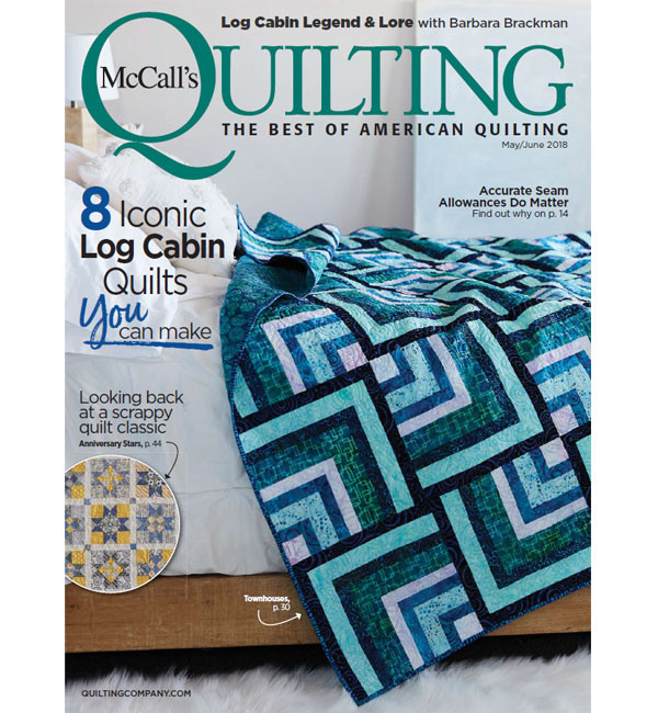McCall's Quilting June/May 2018.. PLUS complete 2017 CD archive  (click!)