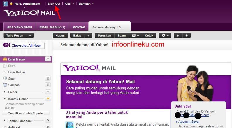 Cara buat email baru daftar email di yahoo gratis ilmu komputer