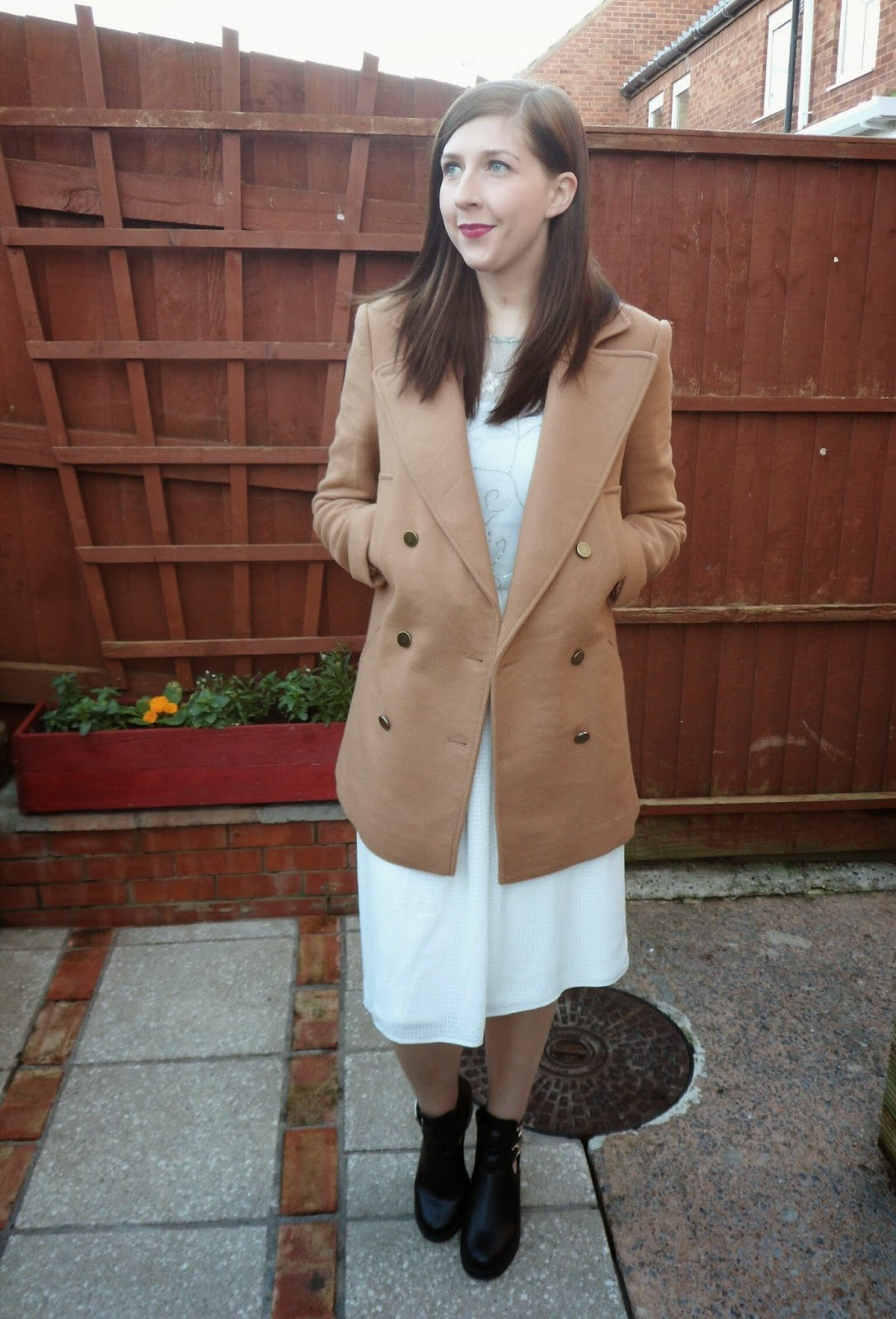 asseenonme, christmasjewellery, fashion, fashionbloggers, fblogger, fbloggers, primark, lookoftheday, lotd, ootd, outfitoftheday, ASOS, whatimwearing, wiw, camelcoat, winter, embellishment, shoezone, heeledboots