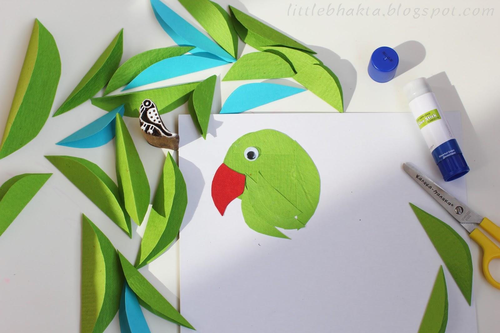 Как сделать клюв из бумаги с фото 173