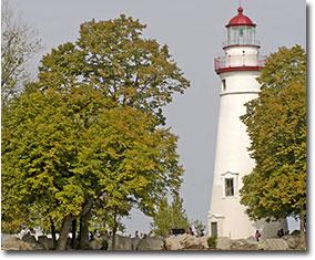 Marblehead Lighthouse Sanduskey, Ohio