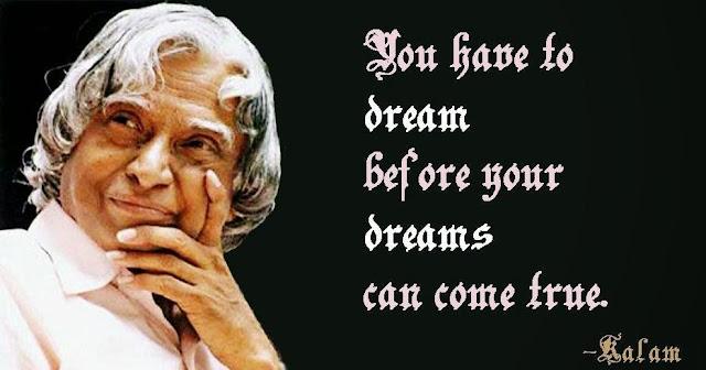apj abdul kalam inspirational quotes
