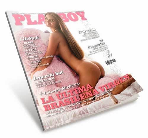 Revista Playboy Argentina Catarina Migliorini Marzo 2013