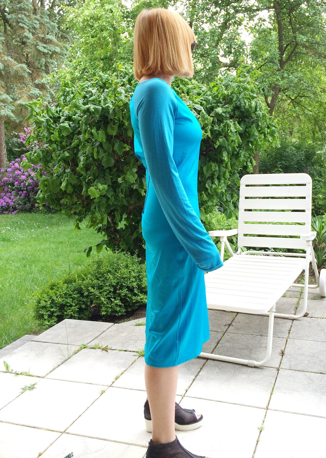 swimsuitdress blau