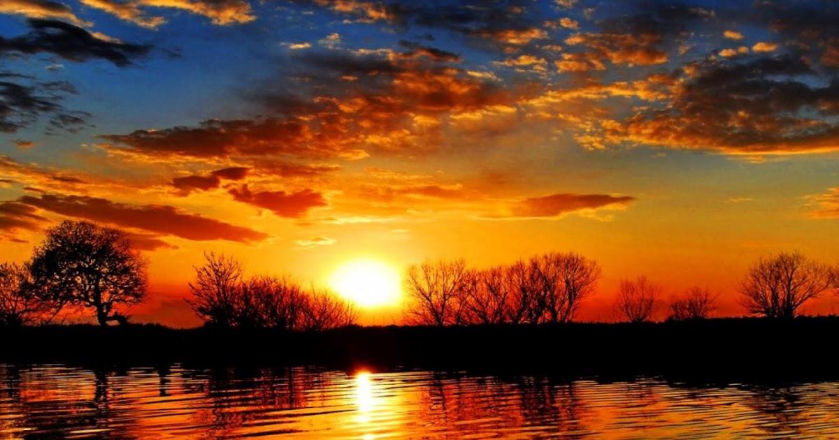gallianmachi beautiful sunset