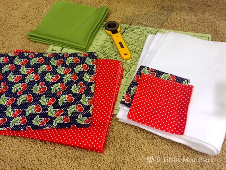 how to make fabric placemats waterproof