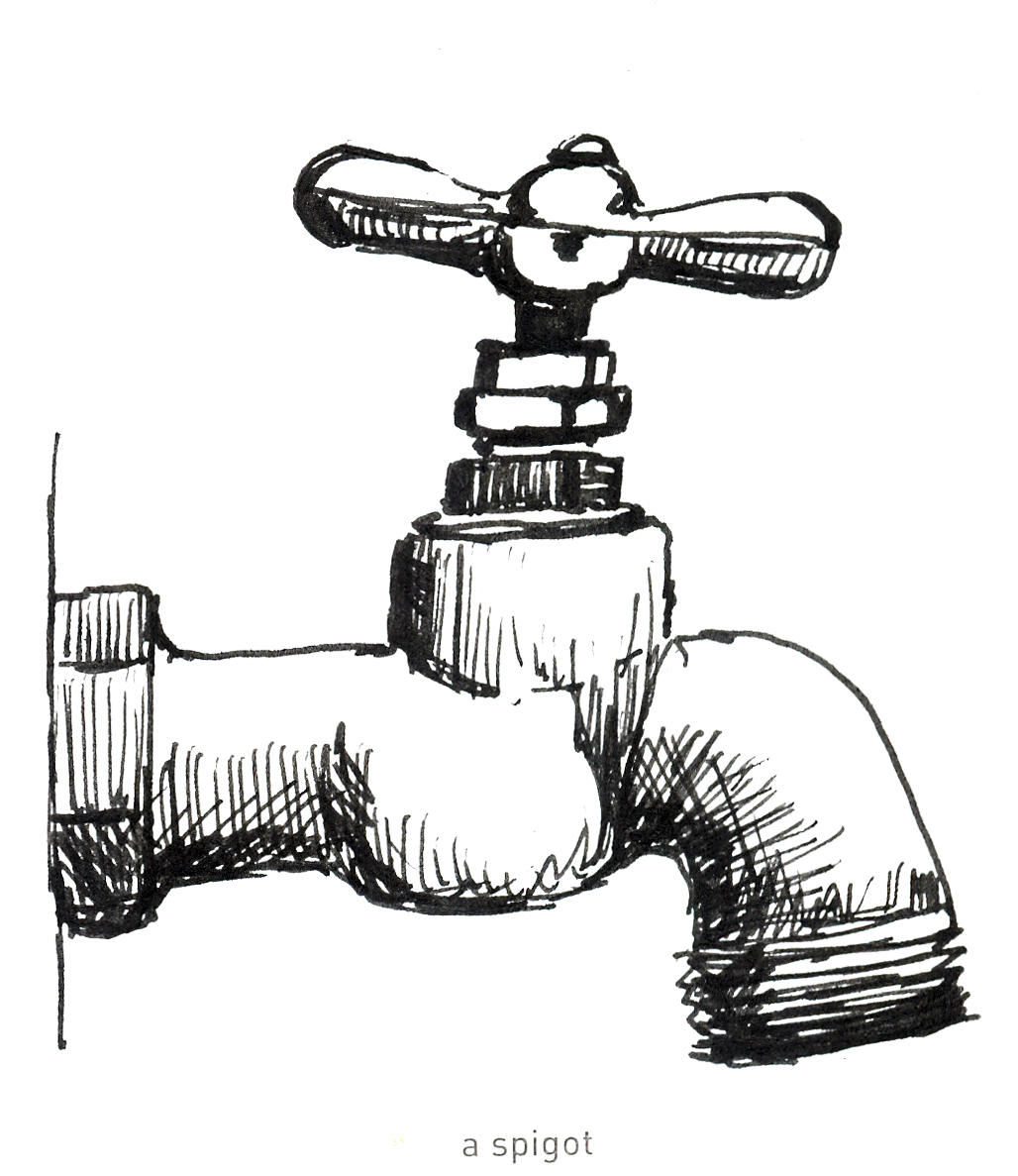 Ana\'s Strictly Sketchbook: 642 Things to Draw #33 - A Spigot