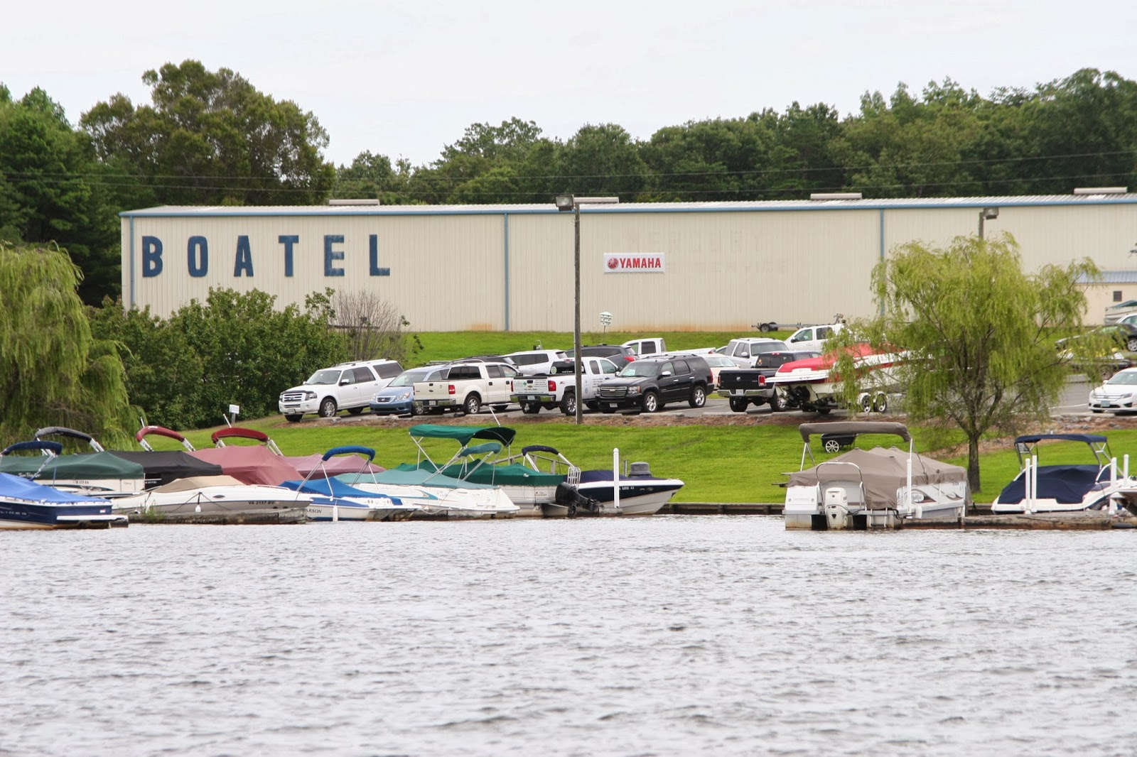 Boat storage anna point marina for Lake anna fishing report