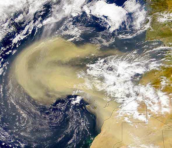Pemanasan Global Dapat Memperkuat Gelombang Timur Afrika