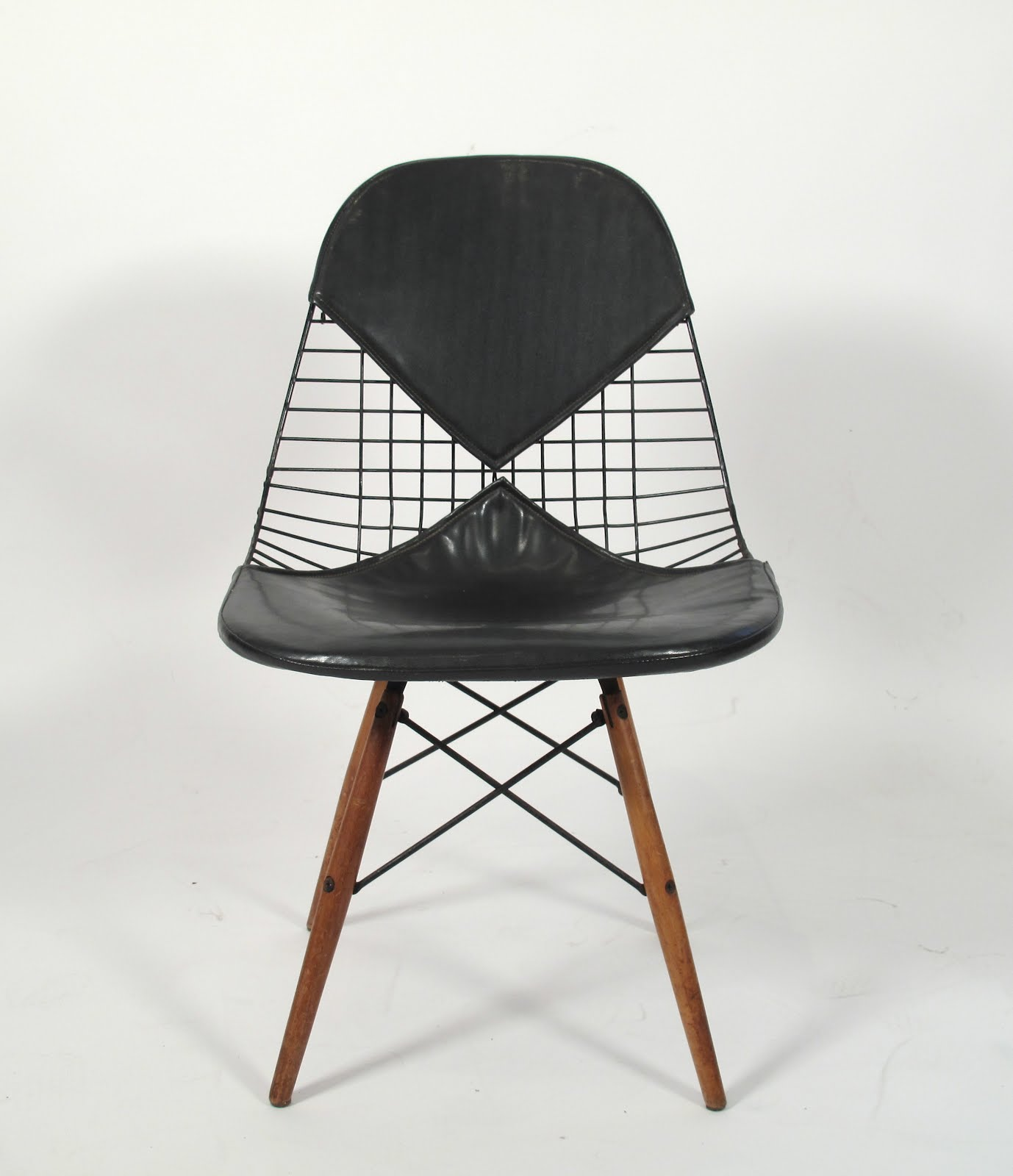 just in modern charles eames dkw 2 wire bikini chair