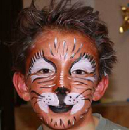 Caras pintadas de niños de animales - Imagui