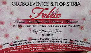 Globos Eventos Y Floristeria FELIX.