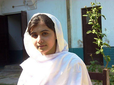 Malala Yousafzai at Home