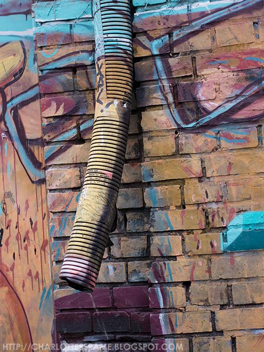3D graffiti, Berlin graffiti, alternative graffiti, street art, street art Berlin