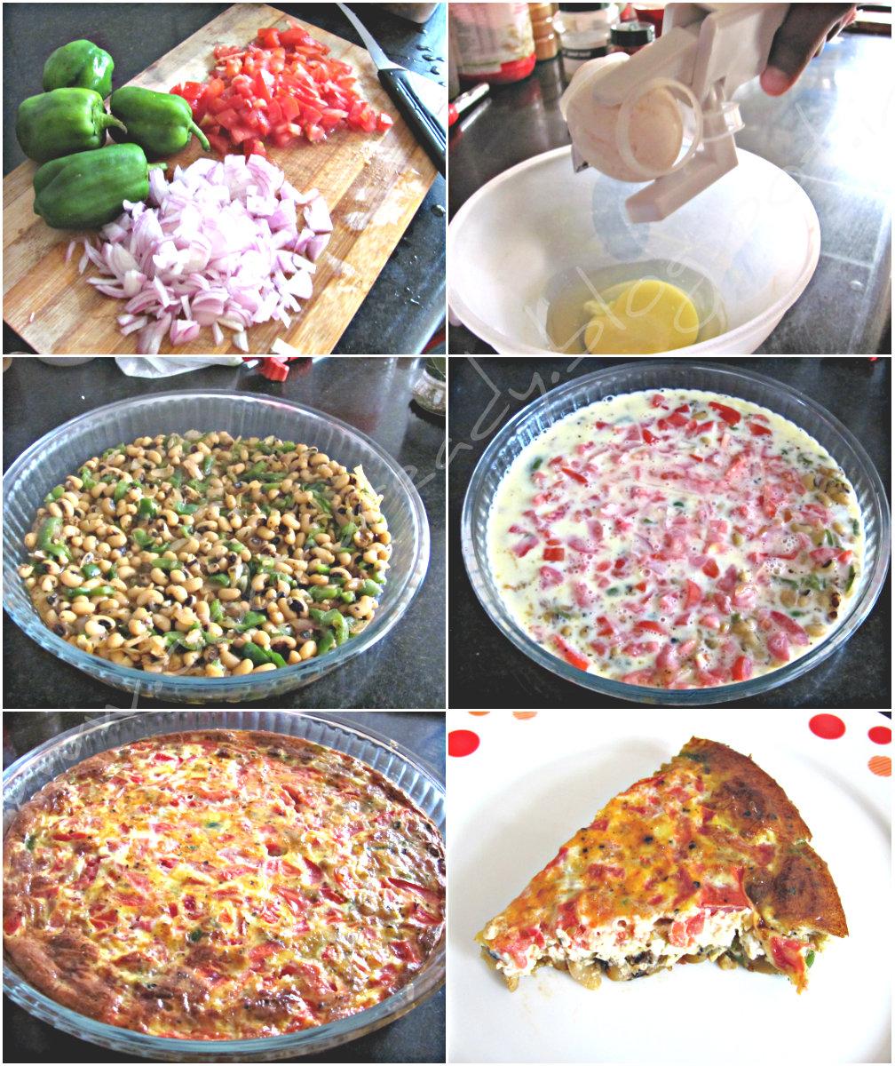 Oonu ready: Mexican Frittata- My style