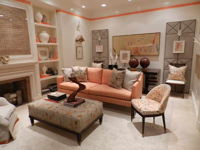 Sybaritic spaces orange you glad i didn 39 t say banana suzanne kasler for inspiration for Suzanne kasler inspired interiors