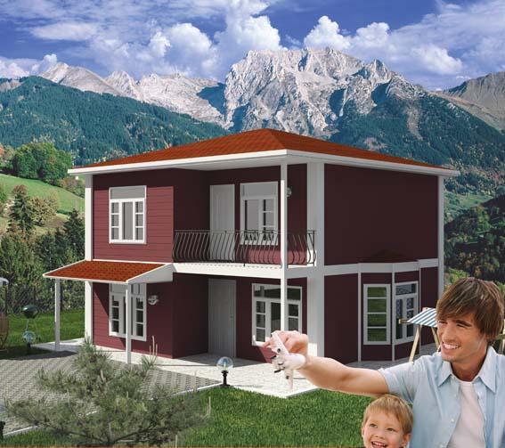 Prefabrik evler ev planları