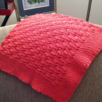 Bubble Baby Blanket - Free Knitting Pattern