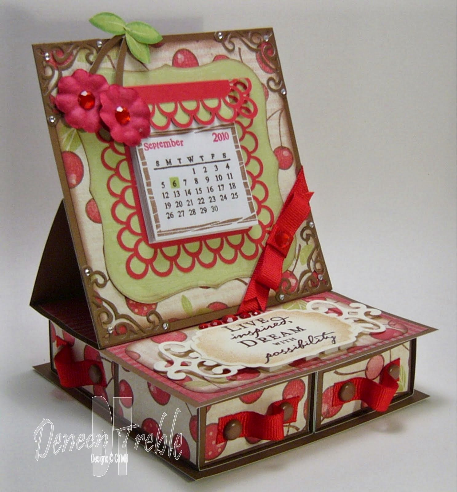 4 Drawer Easel Box Card Tutorial