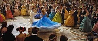 Image of ballroom scene from cinderella 2015