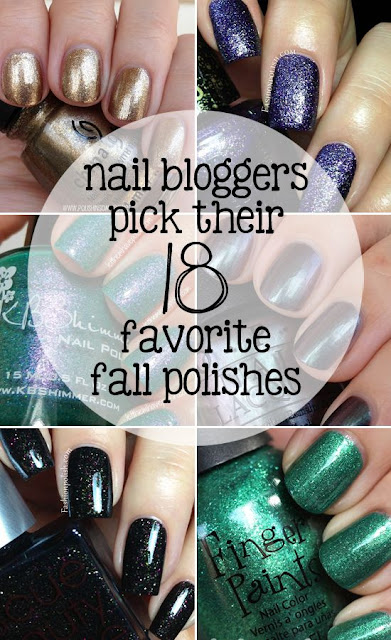 Nail Bloggers Pick Their 18 Favorite Fall Polishes
