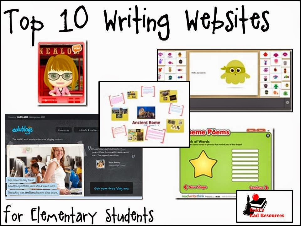 Top 10 Writing Websites for Elementary Students