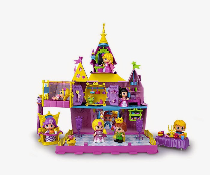 TOYS : JUGUETES - PINYPON  Palacio de princesas y hadas de Pinypon  Producto Oficial | Famosa 700011512 | A partir de 4 años