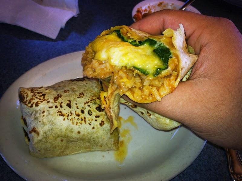 Super Mex Chili Relleno Burrito