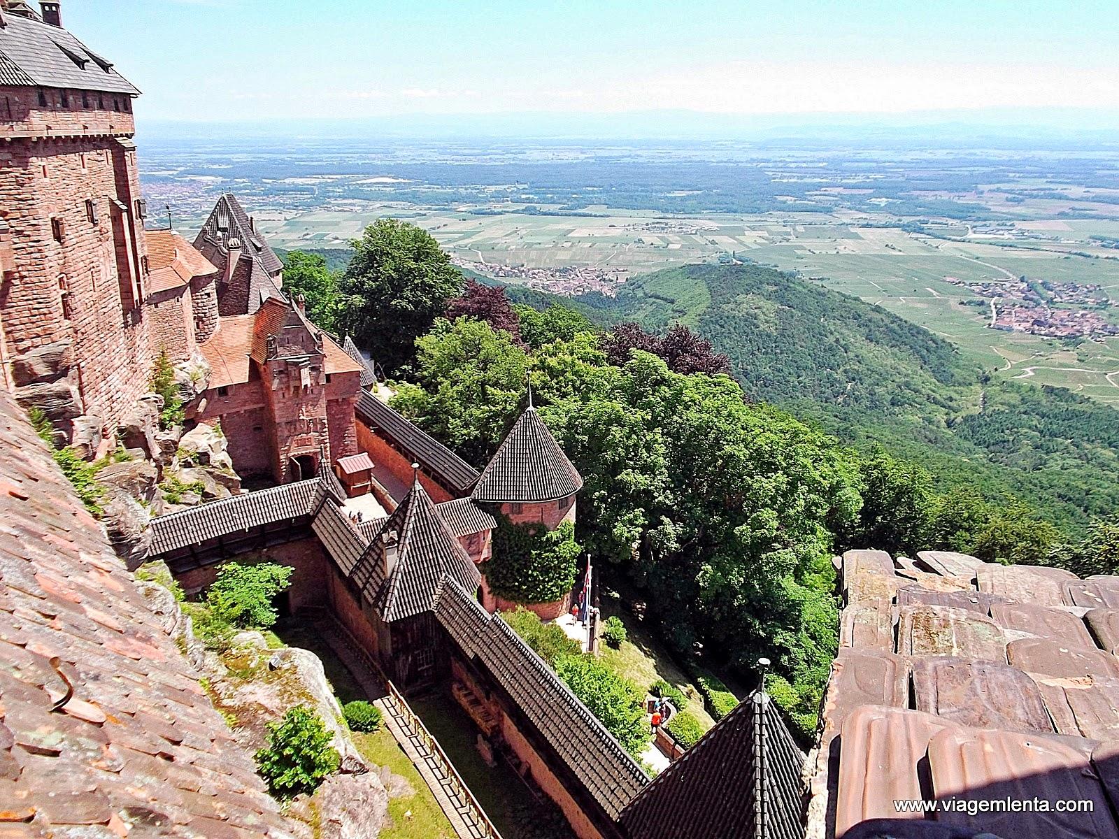 Relato da viagem à região da Alsácia, na França - castelo Haut-Koenigsbourg em Sélestat, e Salzburg, terra de Mozart, na Áustria.