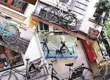 Europe Bicycle Collection   Greeting Cards