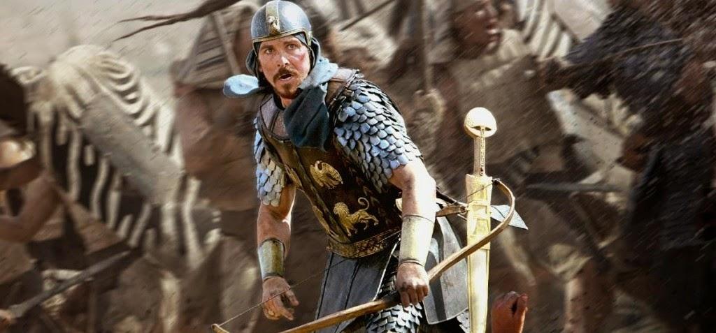 Cenas inéditas em featurette e comercial estendido do épico bíblico Êxodo: Deuses e Reis, com Christian Bale