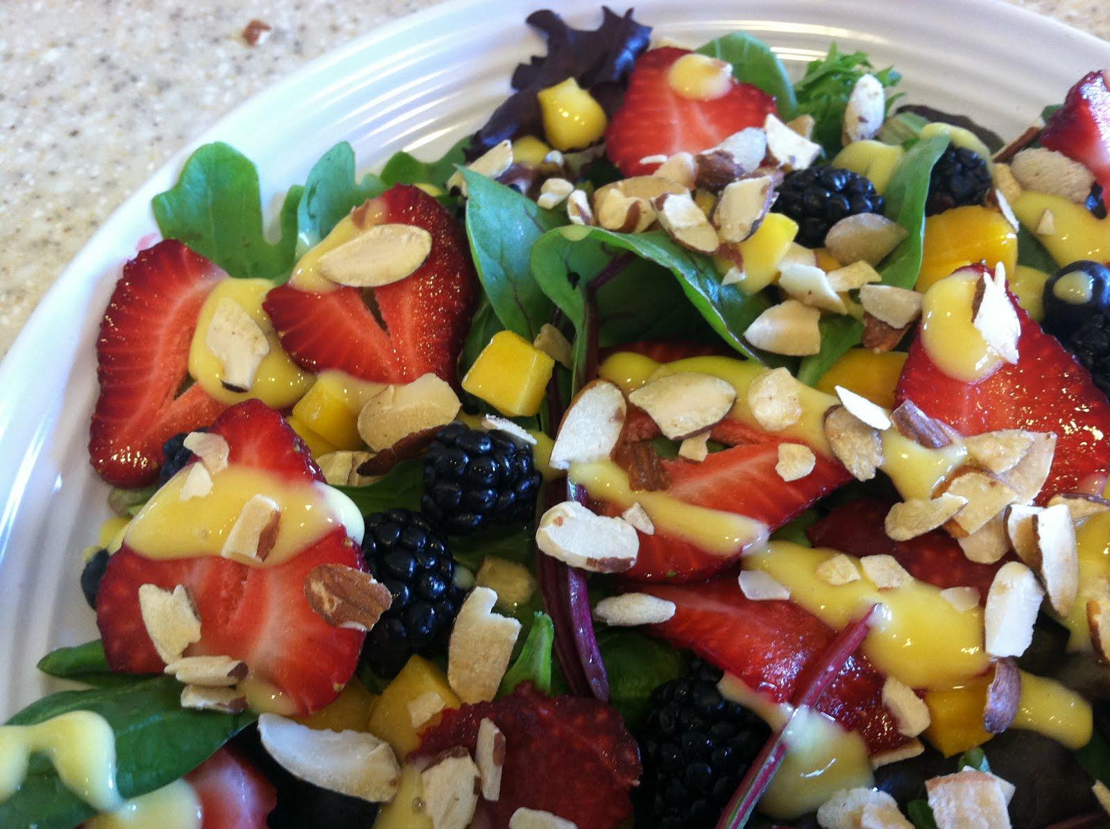 Produce Pantry: Mango Berry Salad