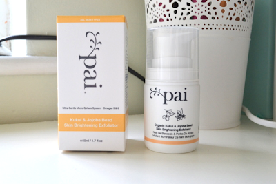 Pai Kukai and Jojoba Bead Skin Brightening Exfoliator