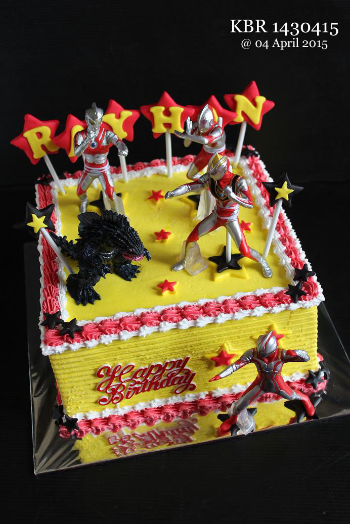 Masama Cakes Ultraman Birthday Cake For Rayhan