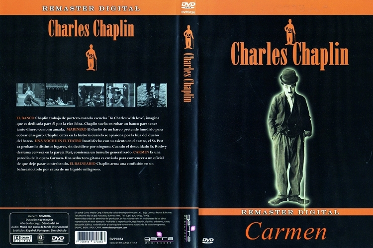 Charlot – Carmen (1915) DescargaCineClasico.Net