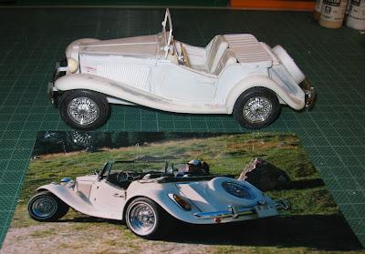 Outra imagem da miniatura em comparação com uma foto do MP que rode entre  8 e 10 mil quilômetros por ano.