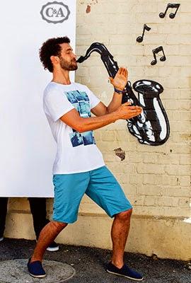 primavera verano 2014 C&A bermudas camiseta hombre