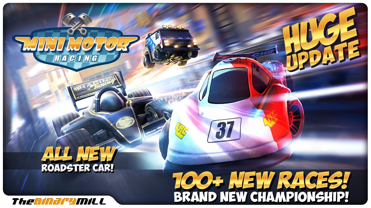 Mini Motor Racing 1.7.2 Apk Full Version Data Files Download-iANDROID Games