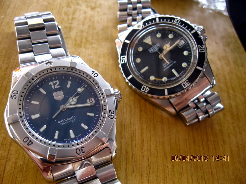 Tag Heuer vs Heuer