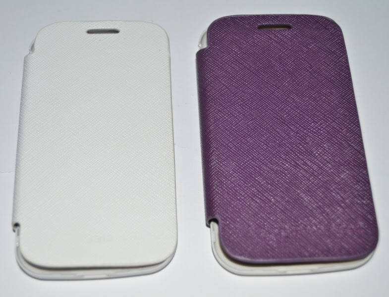 High Quality Leather Flip Cover Case Untuk Samsung Galaxy Ace 2 i8160