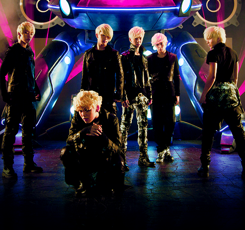 kpop B.A.P Warrior pic