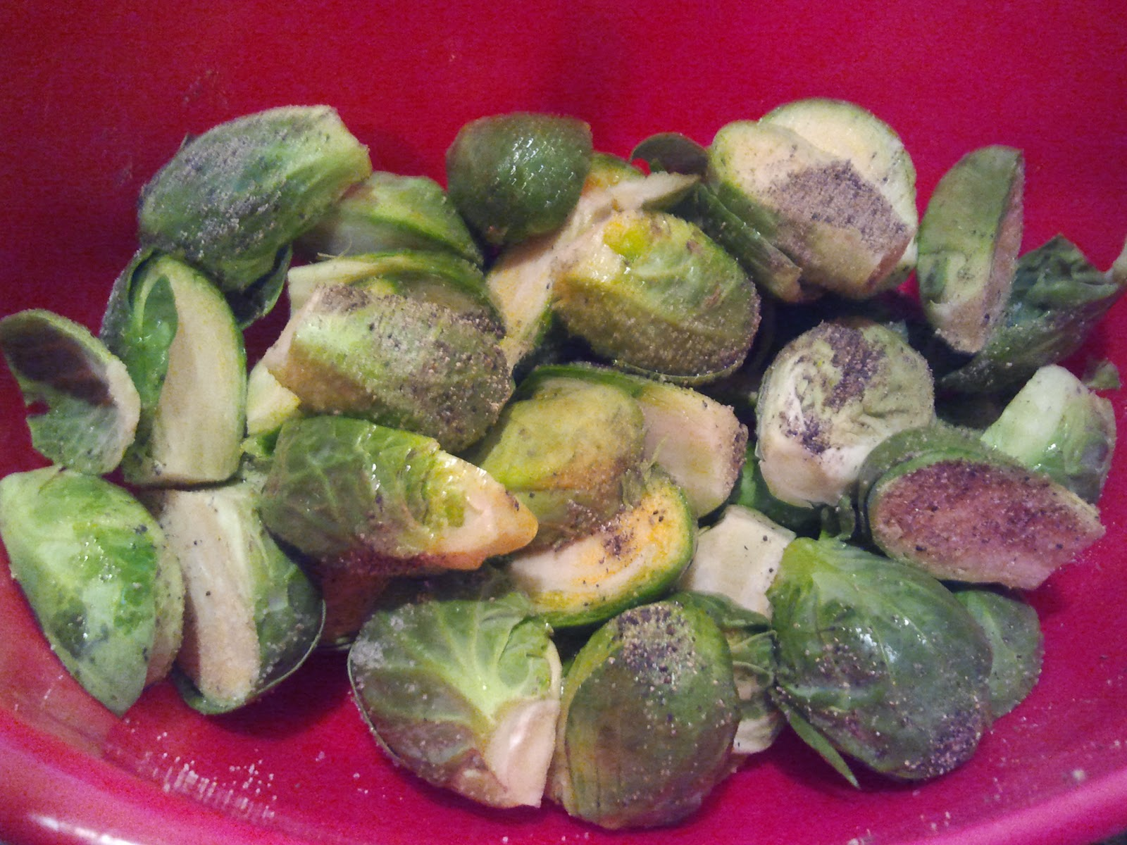 how to clean and cut brussel sprouts