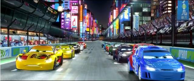 cars2 carrera japon