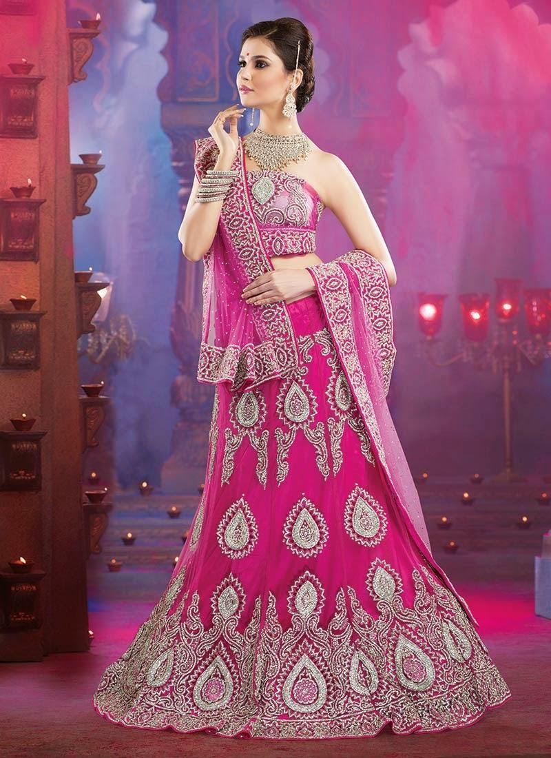 صور ازياء: Ravishing Bridal Lehenga Cholis
