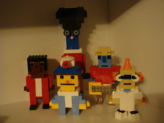 What's In The Bible?  Lego Creations