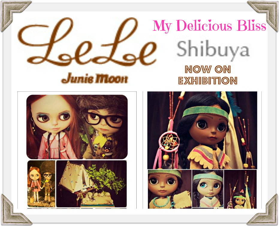 Lele Moon Gallery Exhibition 2014 Shibuya, Japan