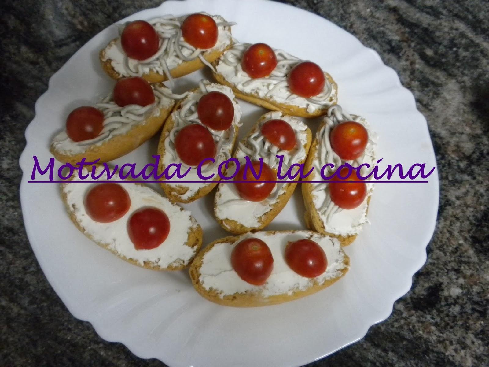 Motivada con la cocina aperitivos originales - Aperitivos frios originales ...