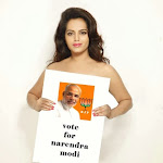 Meghna Patel hot photo shoot for Narendra Modi