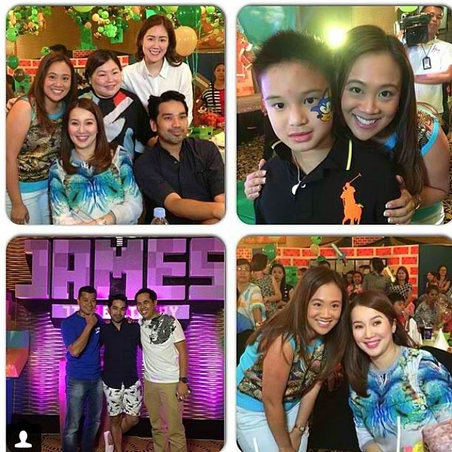 Kris posted a few pictures from Bimby's birthday party at Bellevue ...