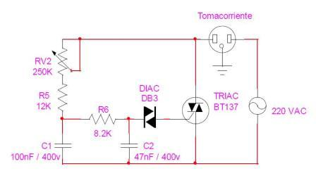 Circuitos electr nicos para armar gratis circuito - Regulador intensidad luz ...